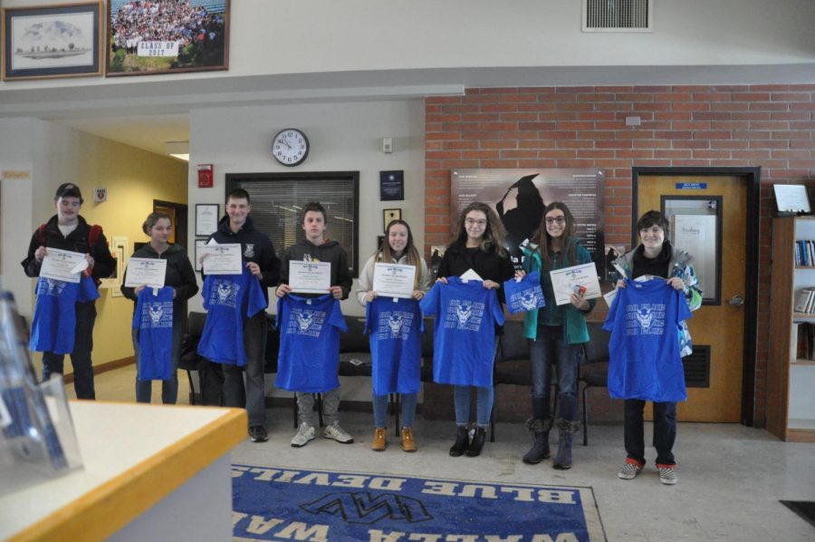 January GO BLUE students of the month announced