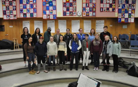 Choir competes in Regional Solo and Ensemble contest
