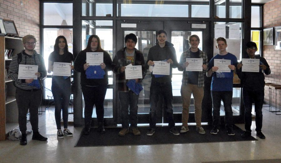 February GO BLUE students of the month announced