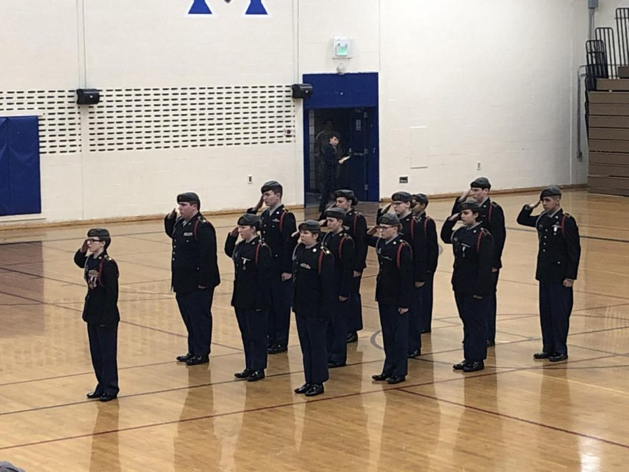 JROTC hosts home drill meet