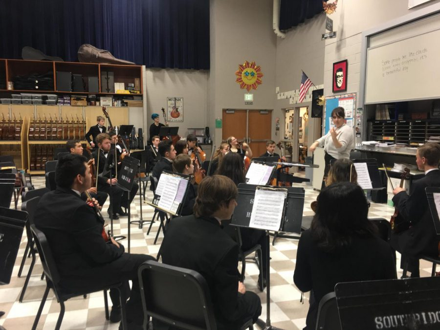 Orchestra receives superior ratings at CBMEA