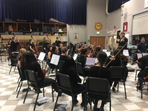 Orchestra competes at CBMEA
