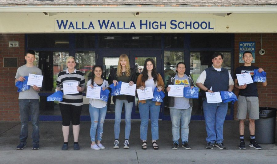 March GO BLUE students of the month announced