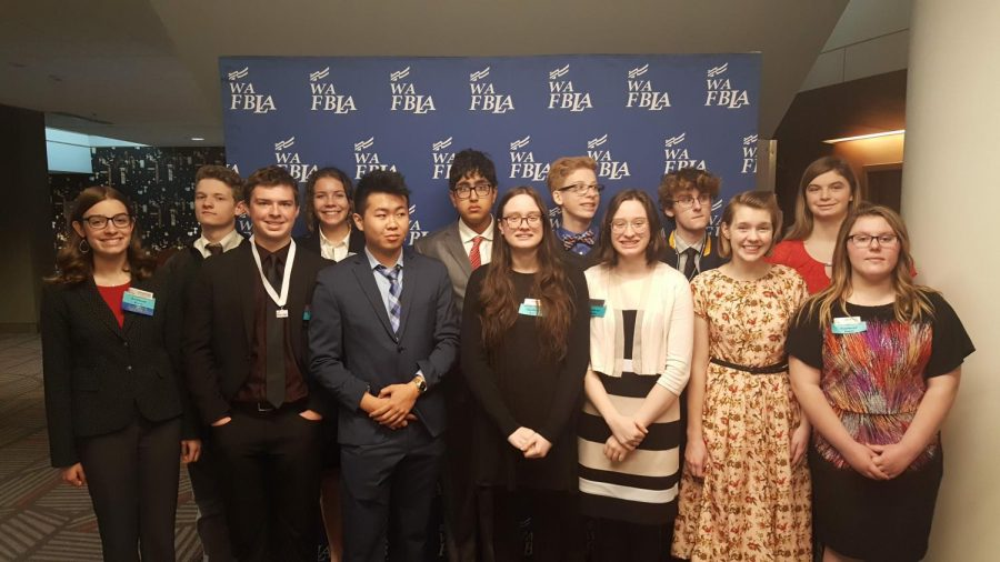 FBLA Members compete at the Washington State FBLA Competition