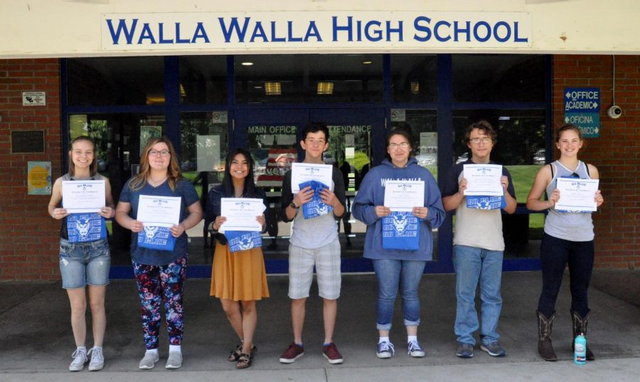 May GO BLUE Students of the month announced
