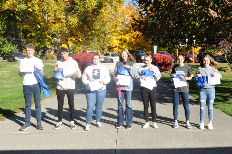 September GO BLUE students of the month recognized