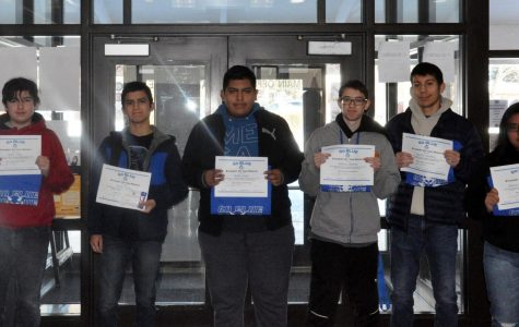 December GO BLUE students of the month announced