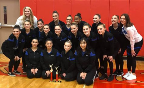 Wa-Hi dance team comes home with a 1st place trophy